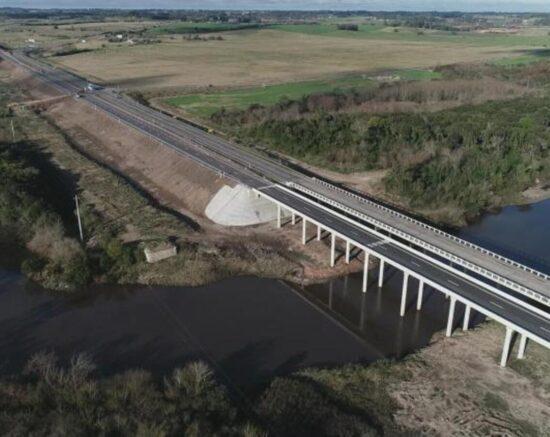 Accesos Puente Rosario Ruta 1